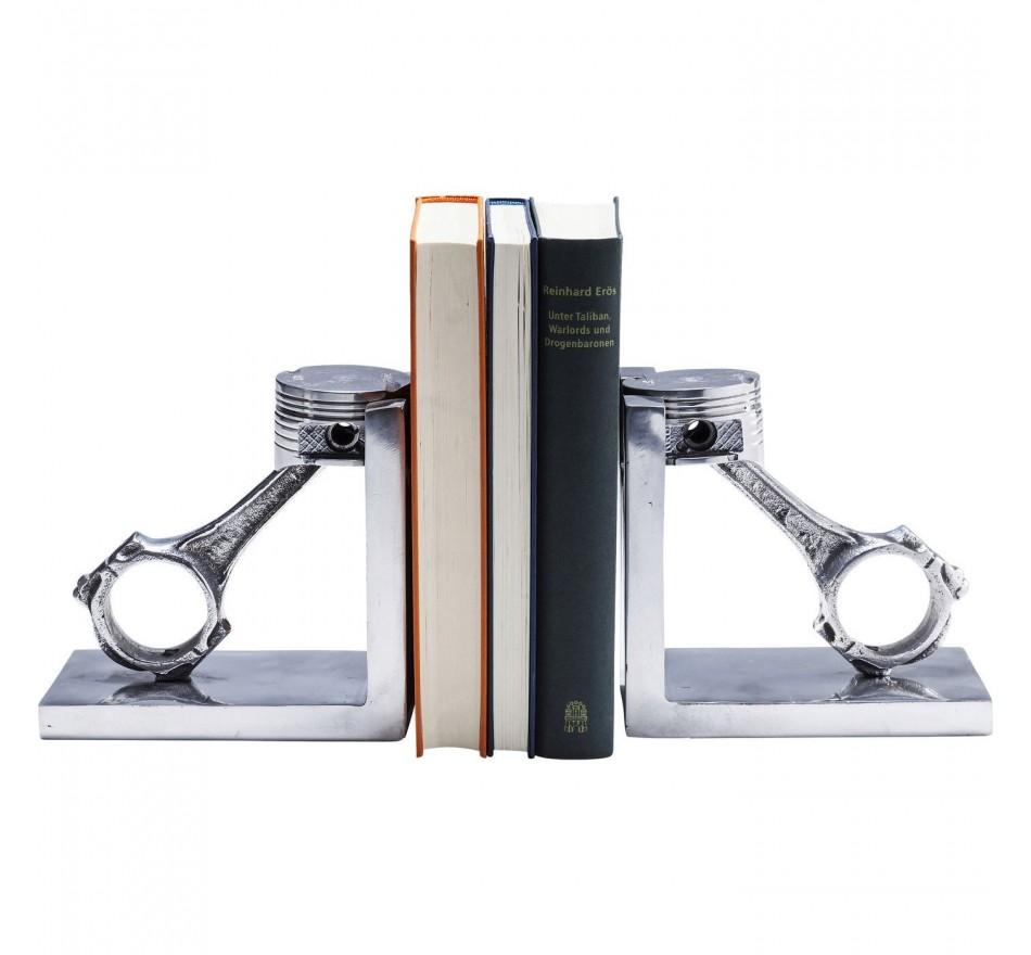Serre-livres Piston set de 2 Kare Design
