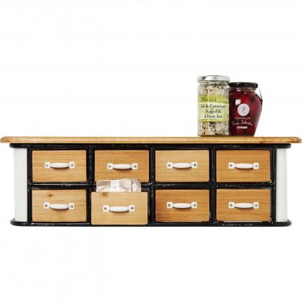 Commode Grannys Kitchen Mini 8 tiroirs Kare Design