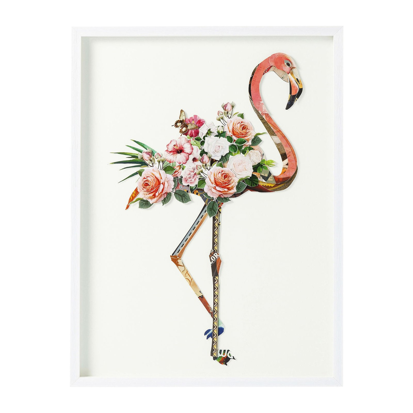 tableau flamant rose frame art flamingo kare design. Black Bedroom Furniture Sets. Home Design Ideas