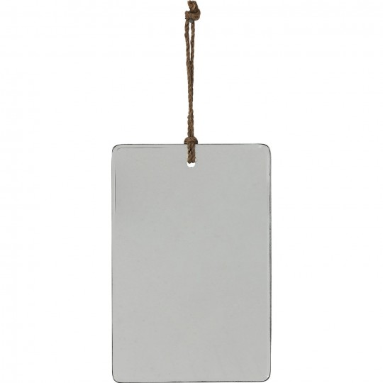 Miroir Pure rectangulaire 30x20cm Kare Design