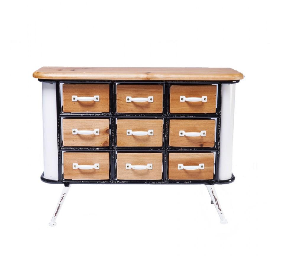 Rangement Grannys Kitchen Mini 9 tiroirs Kare Design