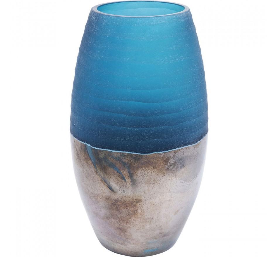 Vase Blue Storm 31cm Kare Design