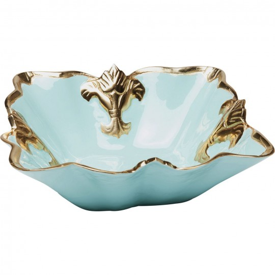 Coupe Versailles turquoise 30x30cm Kare Design