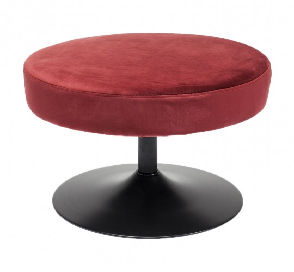 Tabouret Pivotant berry 60cm Kare Design