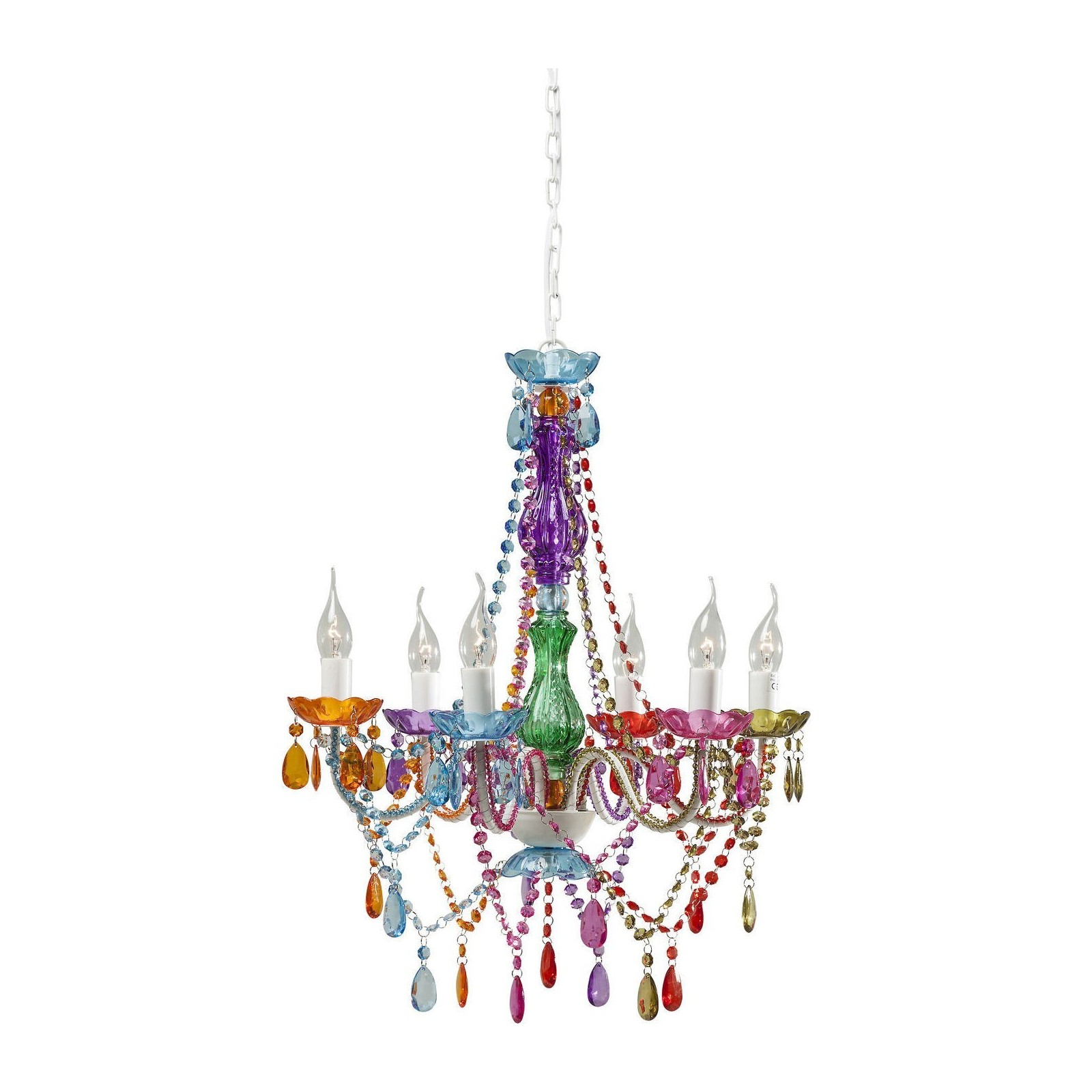 Lustre baroque starlight multicolore kare design - Lustre baroque multicolore ...
