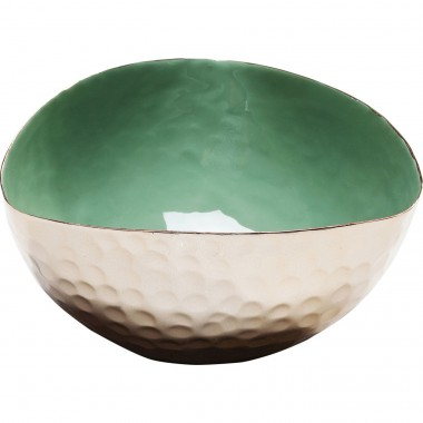 Coupe Battellino verte 12cm Kare Design