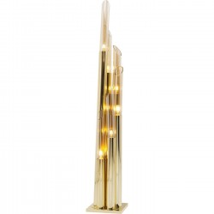 Lampadaire Pipe doré 175cm Kare Design