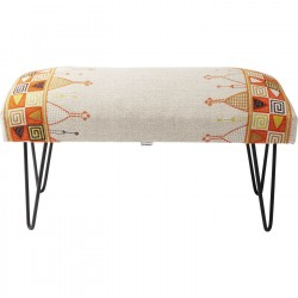 banc multicolore izzy gaga kare design. Black Bedroom Furniture Sets. Home Design Ideas