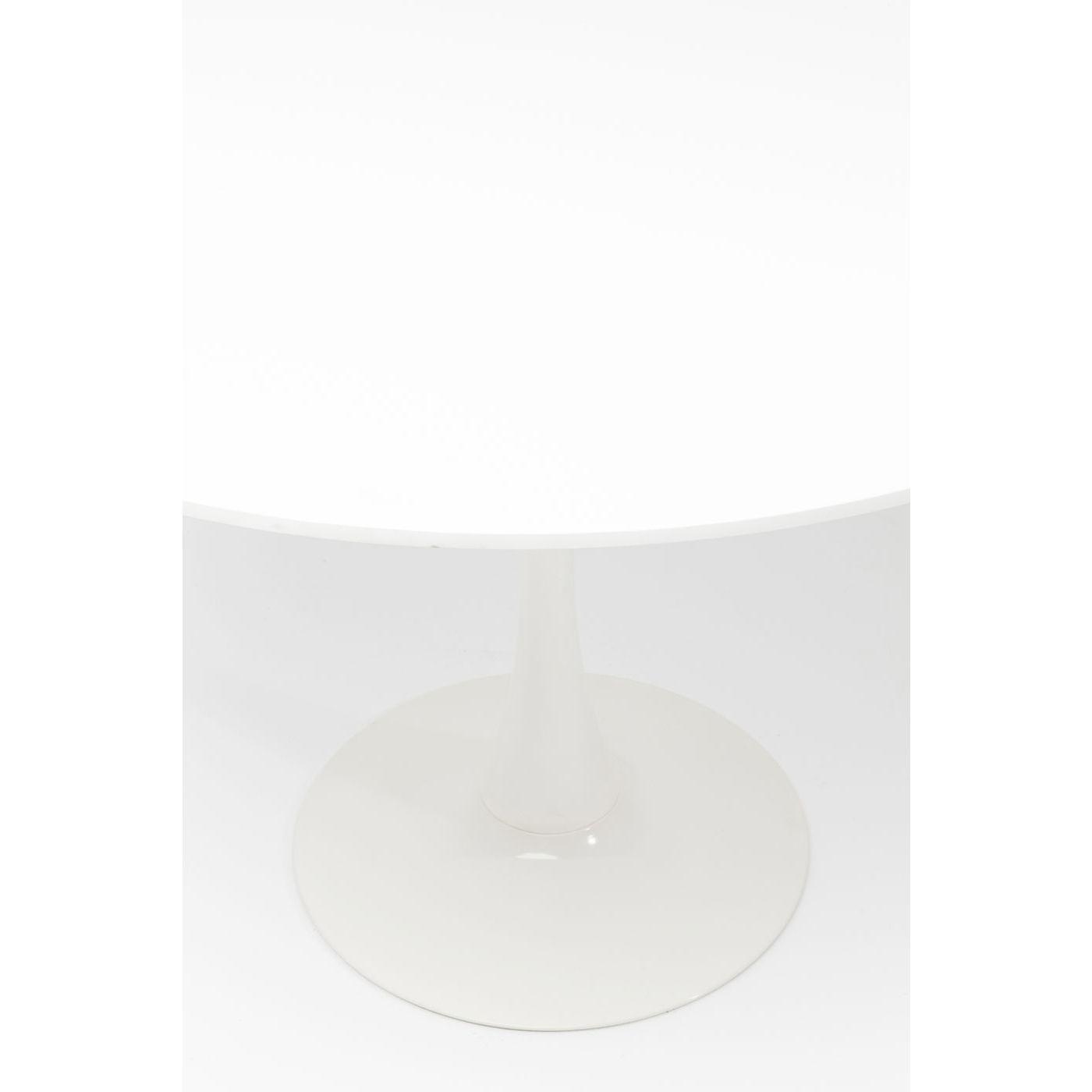Table Schickeria 110cm blanche Kare Design