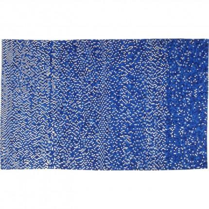 Tapis Pixel bleu 300x200cm Kare Design