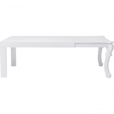Table Janus blanche 220x90cm Kare Design