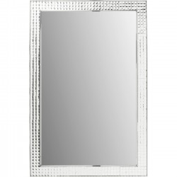 Miroir Crystals chrome 120x80cm Kare Design