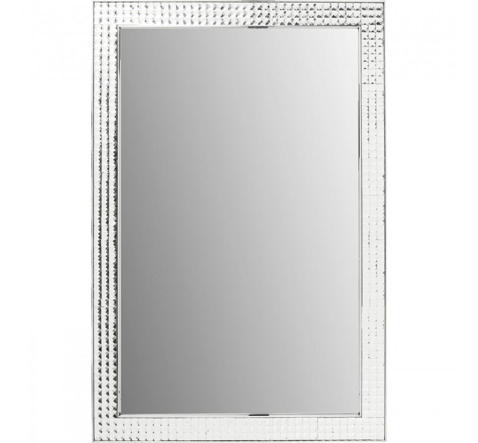 Miroir Crystals Steel chrome 120x80cm Kare Design