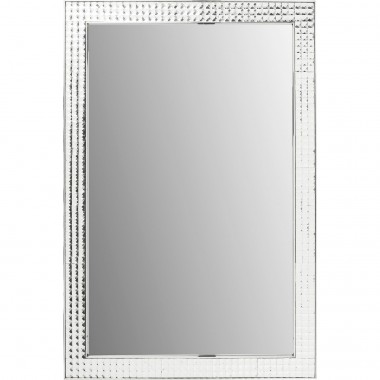Miroir Crystals Steel chrome 120x80cm Kare Design
