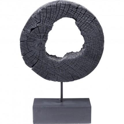Déco Ring Of Fire noir 53cm Kare Design
