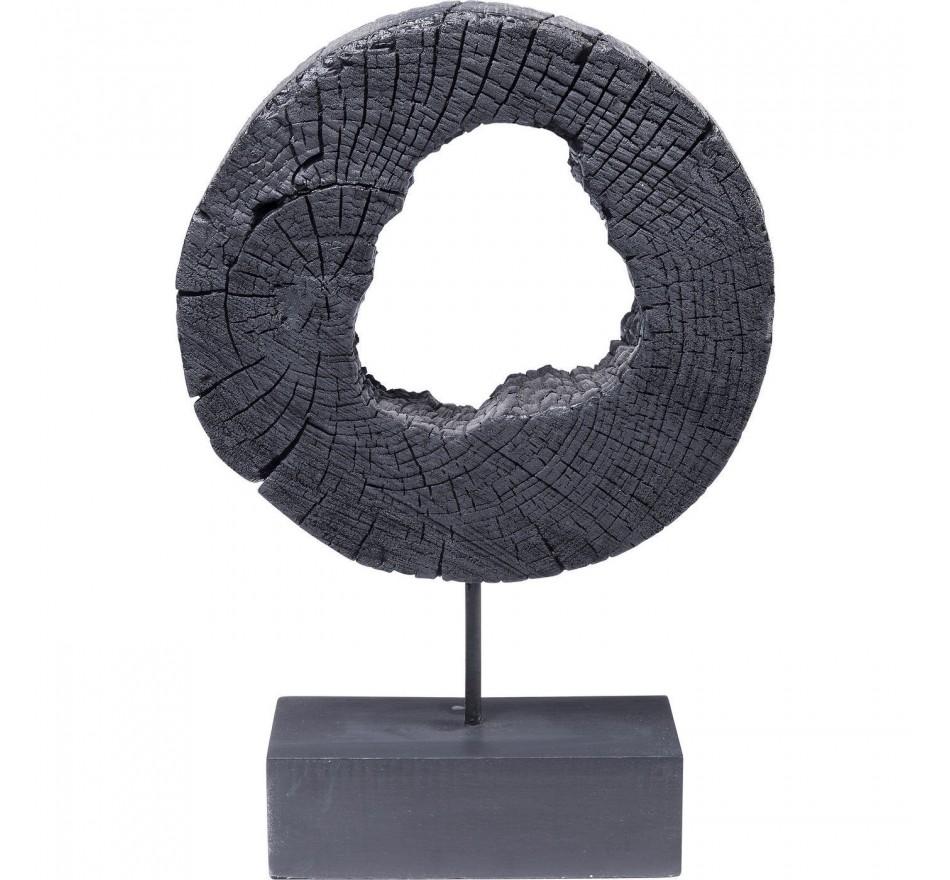 Objet décoratif Ring Of Fire noir 53cm