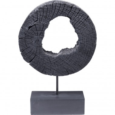 Déco Ring Of Fire noir 53cm Kare Design