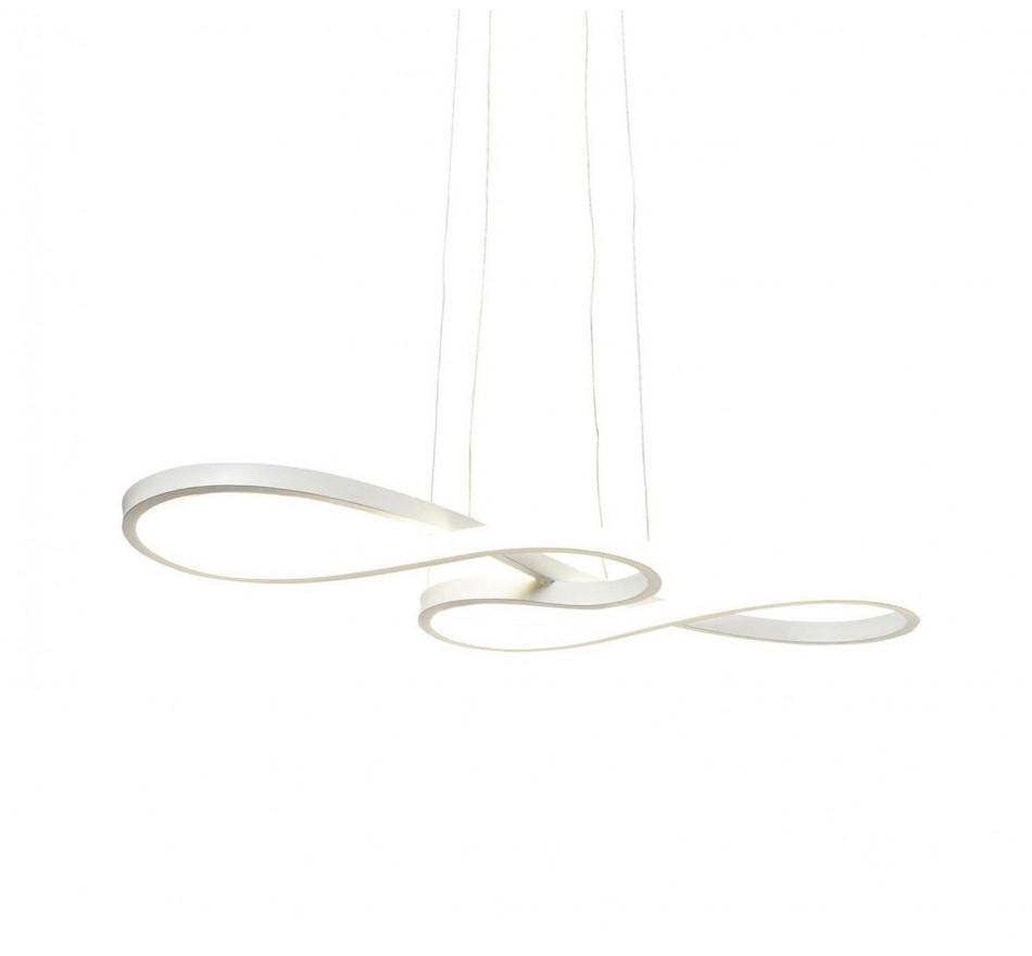 Suspension Snake blanc LED