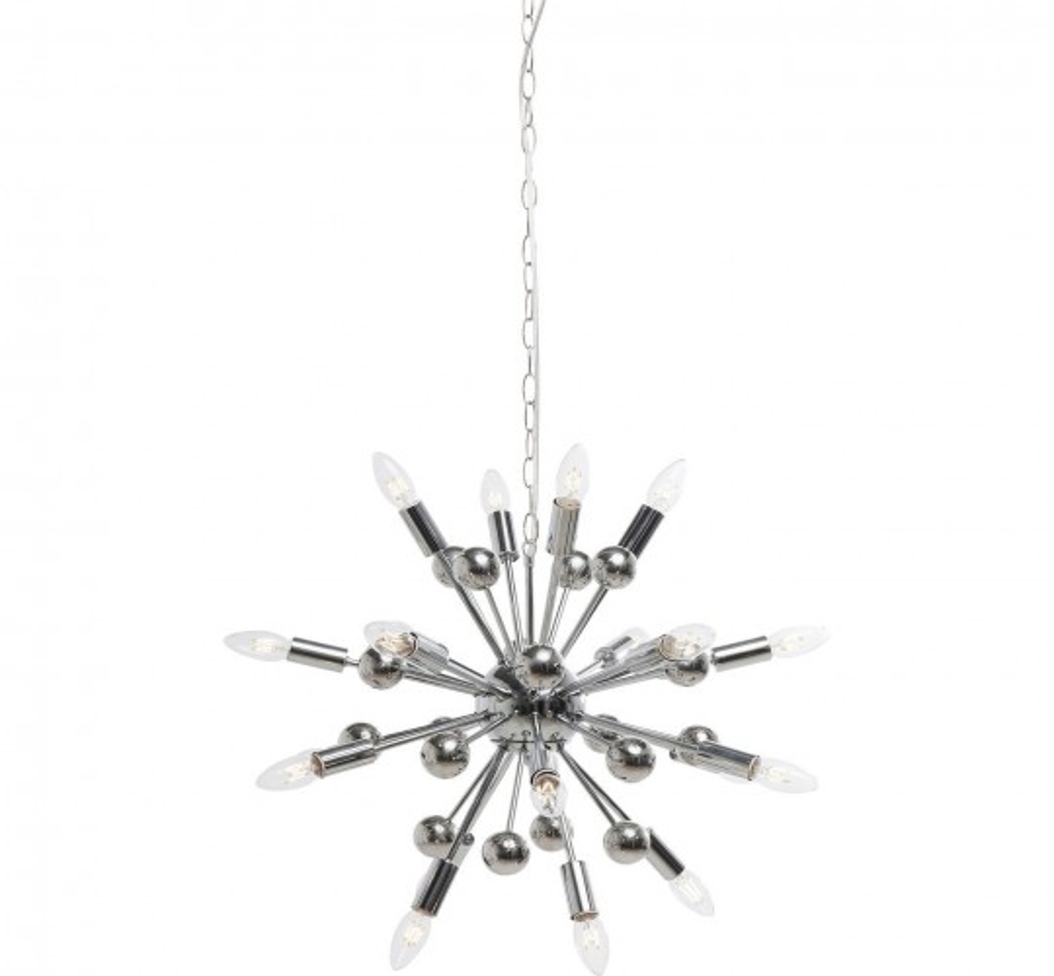 Suspension Sputnik chromé Twen Kare Design