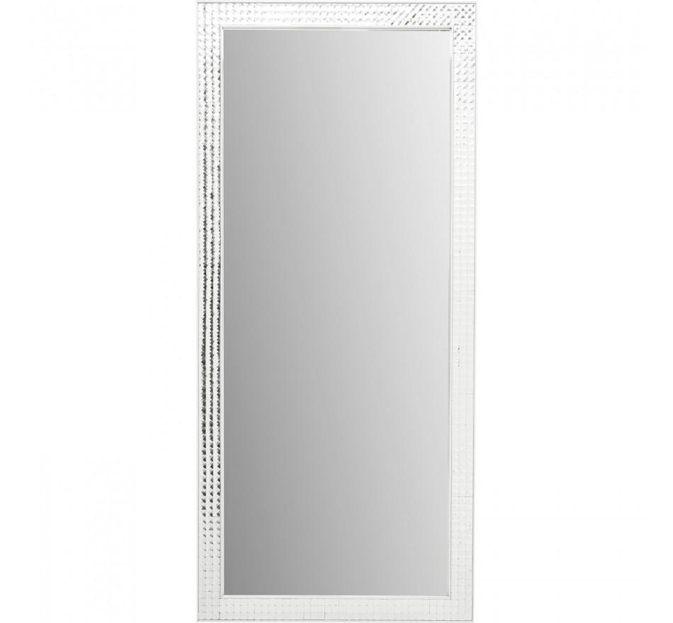 Miroir Crystals Steel chrome 180x80cm Kare Design