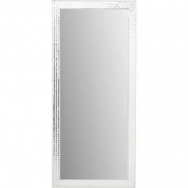Miroir Crystals Steel chrome 180x80cm Kare Design