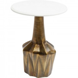 Table d'appoint Firestarter Edge 46cm Kare Design