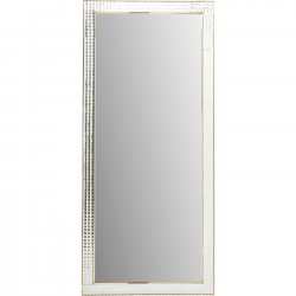 Miroir Crystals doré 180x80cm Kare Design
