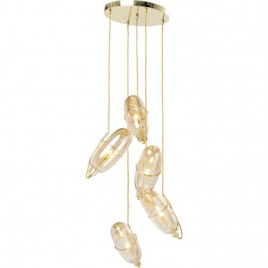 Suspension Capsule ambre Kare Design