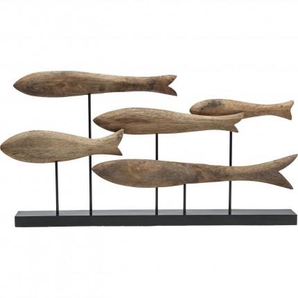 Déco Fischschwarm Nature Kare Design