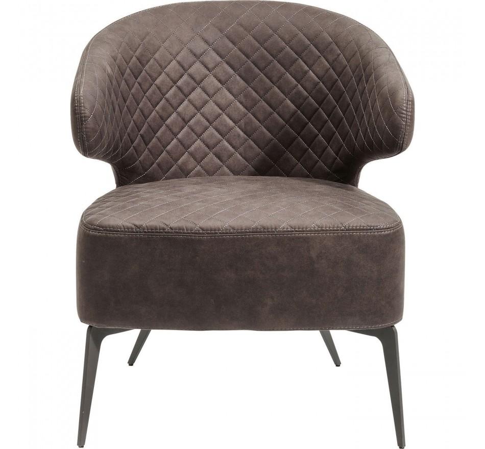 Fauteuil Amsterdam gris Kare Design