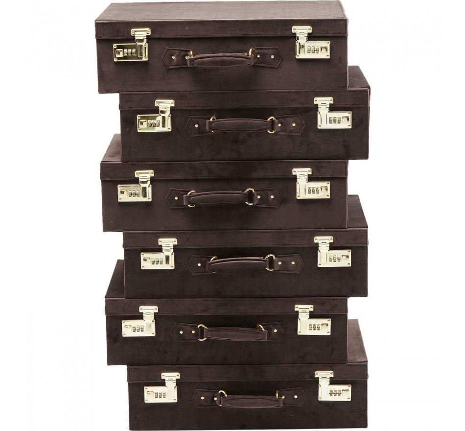 Chiffonnier Suitcase brun Kare Design