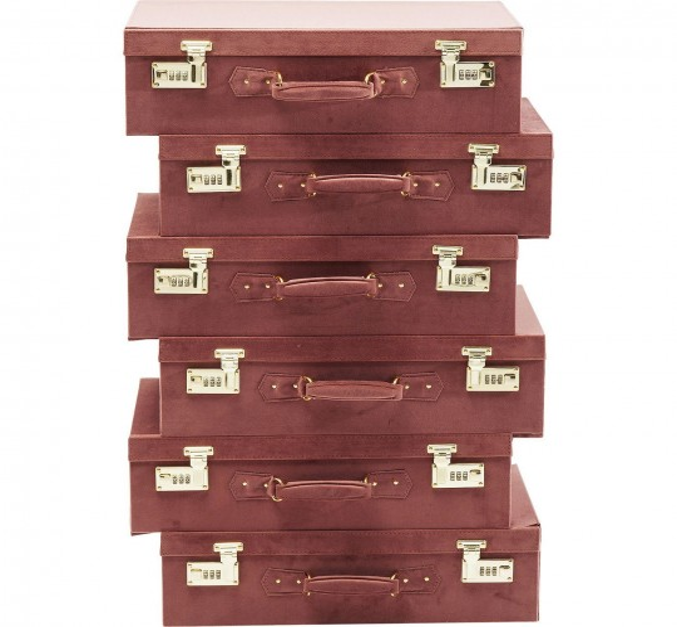 Chiffonnier Suitcase marron Kare Design