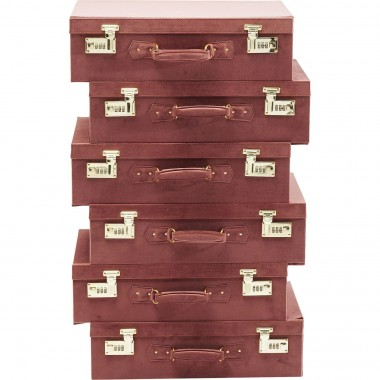 Chiffonnier Suitcase marron Kare Design