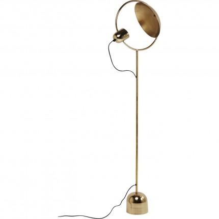 Lampadaire Reflector 159cm laiton Kare Design