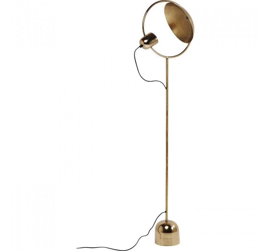Lampadaire Reflector laiton Kare Design