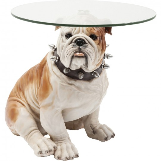 Table d'appoint Bulldog anglais Kare Design