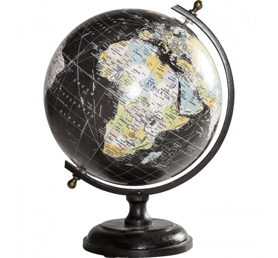 Déco Globe Vintage noir Kare Design