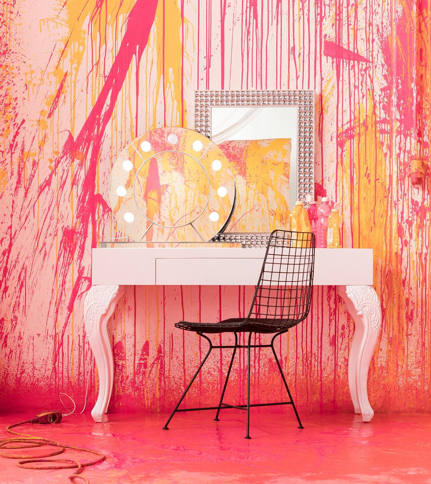 Miroir Make Up rond Kare Design