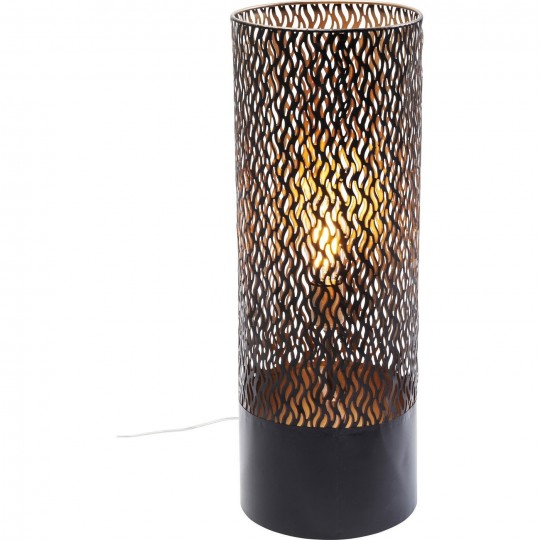 Lampadaire Flame rond 65cm Kare Design