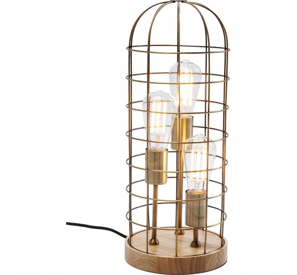 Lampe de table Cage Tre Wood