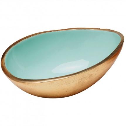 Coupe Olala dorée et menthe 10cm Kare Design