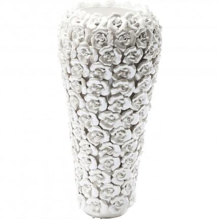 Vase Rose Multi Pearl blanc Kare Design