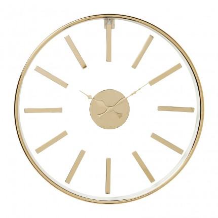 Horloge murale Artist or rose 76cm Kare Design