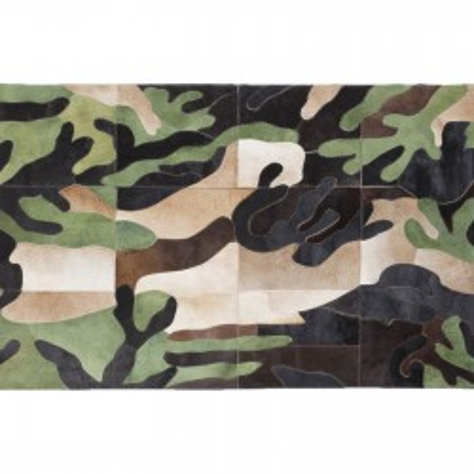 Tapis Camouflage 170x240cm Kare Design