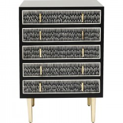 Commode Piano 5 Tiroirs Kare Design