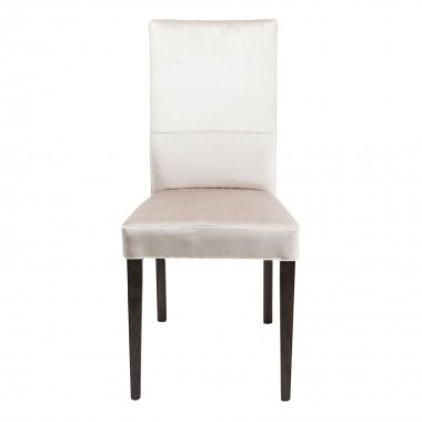 Chaise Mara velours taupe