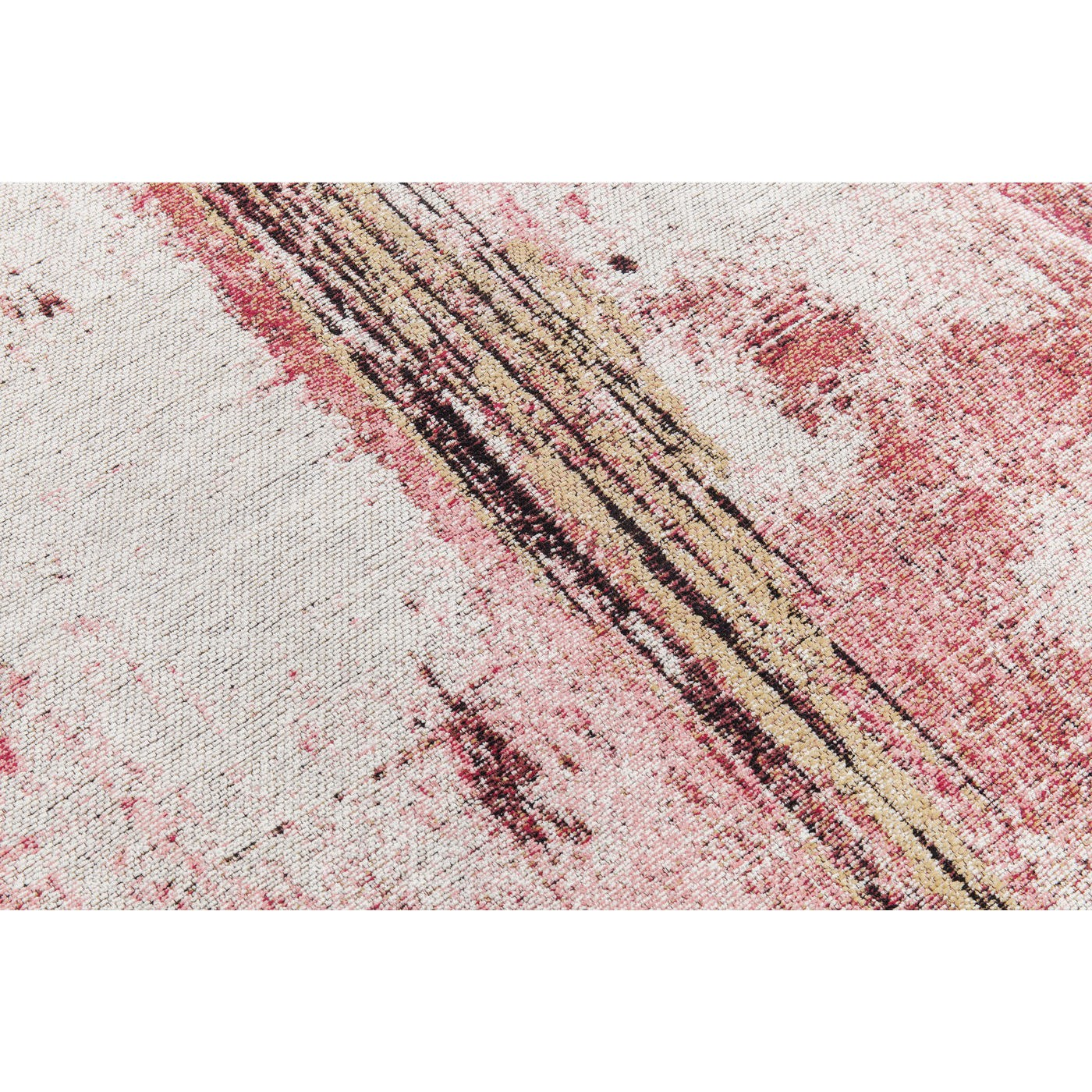 Tapis Abstract rouge 240x170cm Kare Design