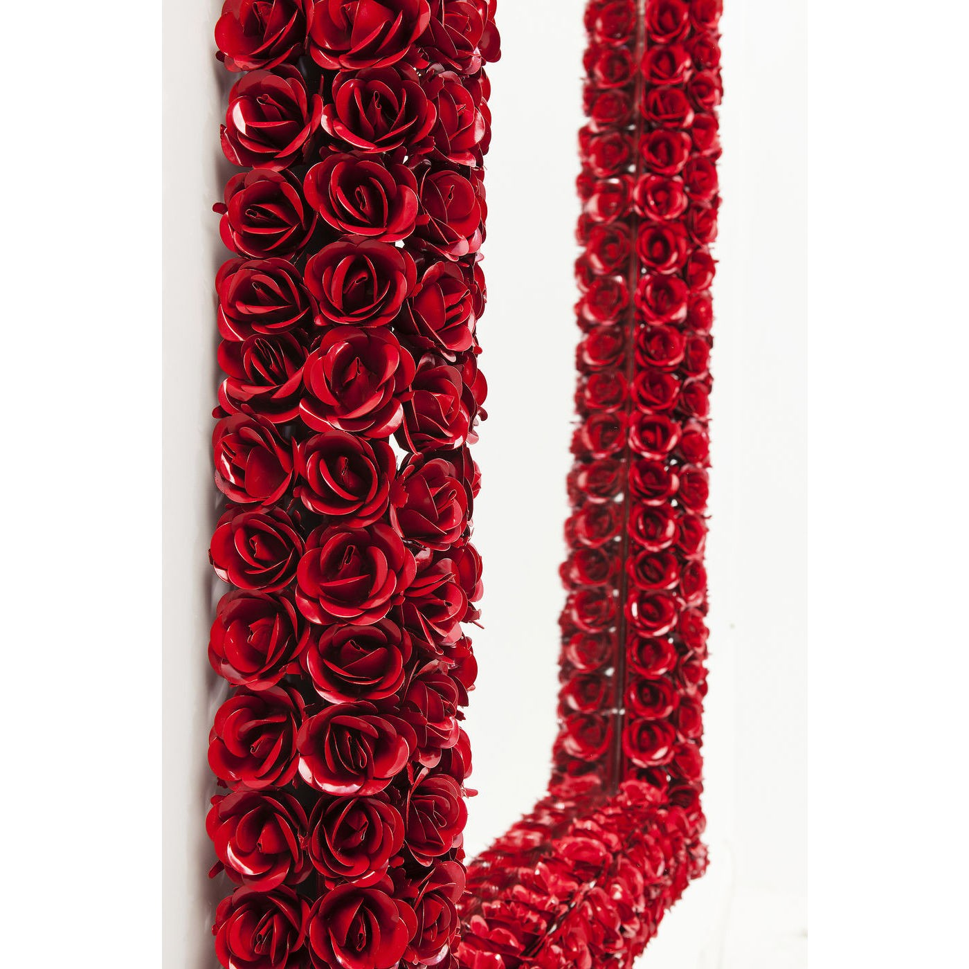 Miroir roses rouges rectangulaire 180x80cm Kare Design