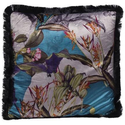 Coussin Flower Garden Fringe 45x45cm Kare Design