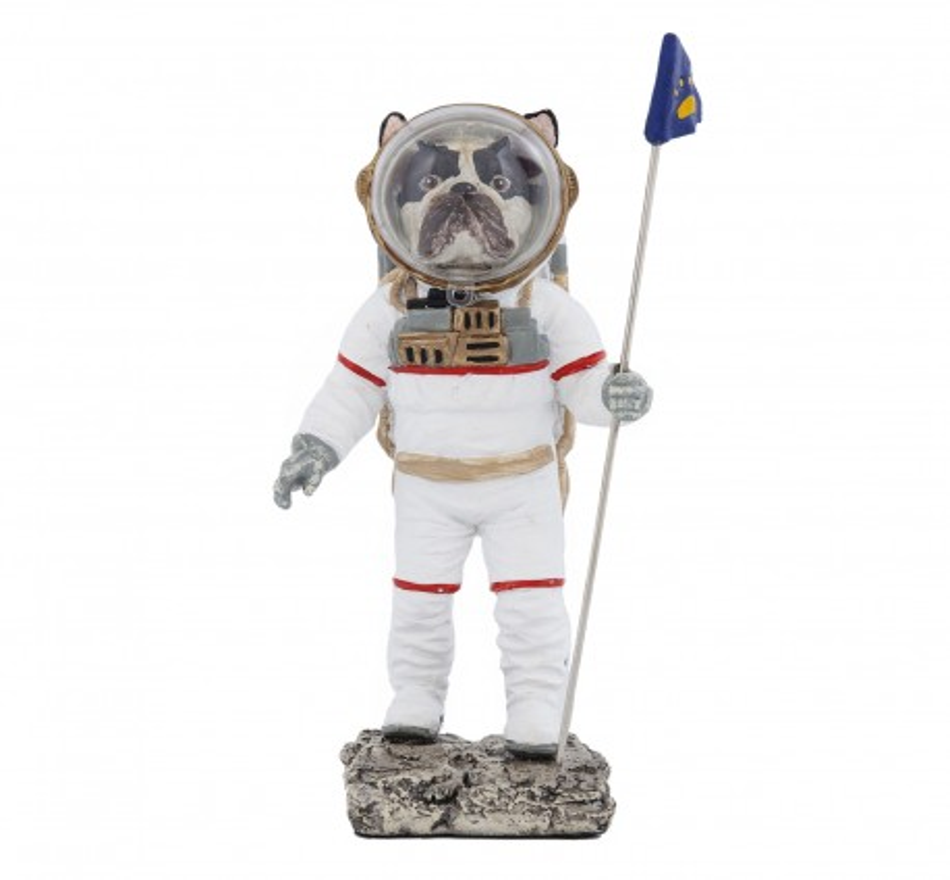 Déco Space Dog 26cm Kare Design